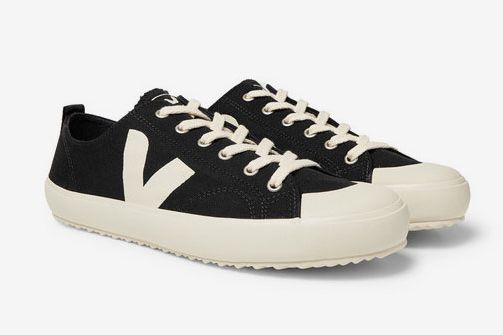 Veja Nova Rubber-Trimmed Organic Cotton-Canvas Sneakers
