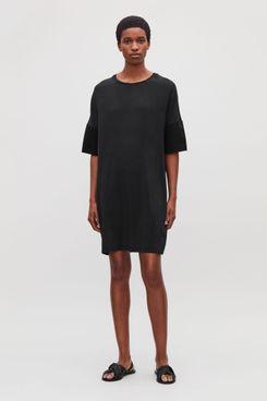 Cos Silk Jersey T-Shirt Dress