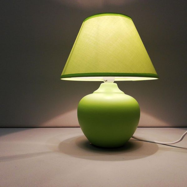 Green Apple Lamp