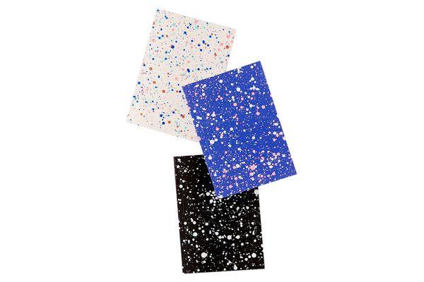 Amaretti Designs Paint Splatter Mini Notebook