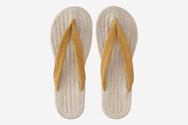 Muji Indian Cotton Room Sandals Thong