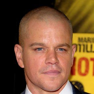 Actor Matt Damon.