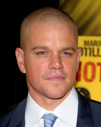 Actor Matt Damon.