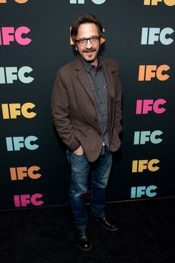 Comedian Marc Maron attends the 2014 IFC Upfront at Roseland Ballroom on March 20, 2014 in New York City.