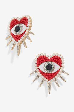 BaubleBar Jicho Evil Eye Burst Statement Stud Earrings