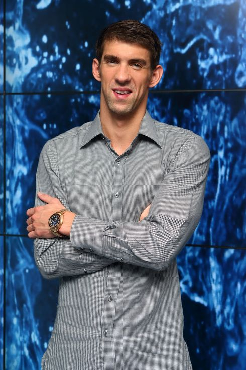 Michael Phelps attends 'Spotlight On Swimming' presented by Omega House on August 7, 2012 in London, England.