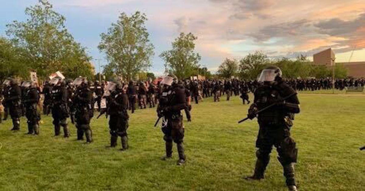 Cops in Riot Gear Stormed a Violin Vigil for Elijah McClain