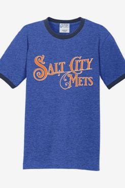 Syracuse Mets Salt City Mets Royal Ringer Tee