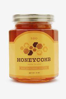 SB Organics 12 oz Honeycomb Jar