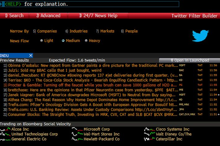 Courtesy Of Bloomberg Lp