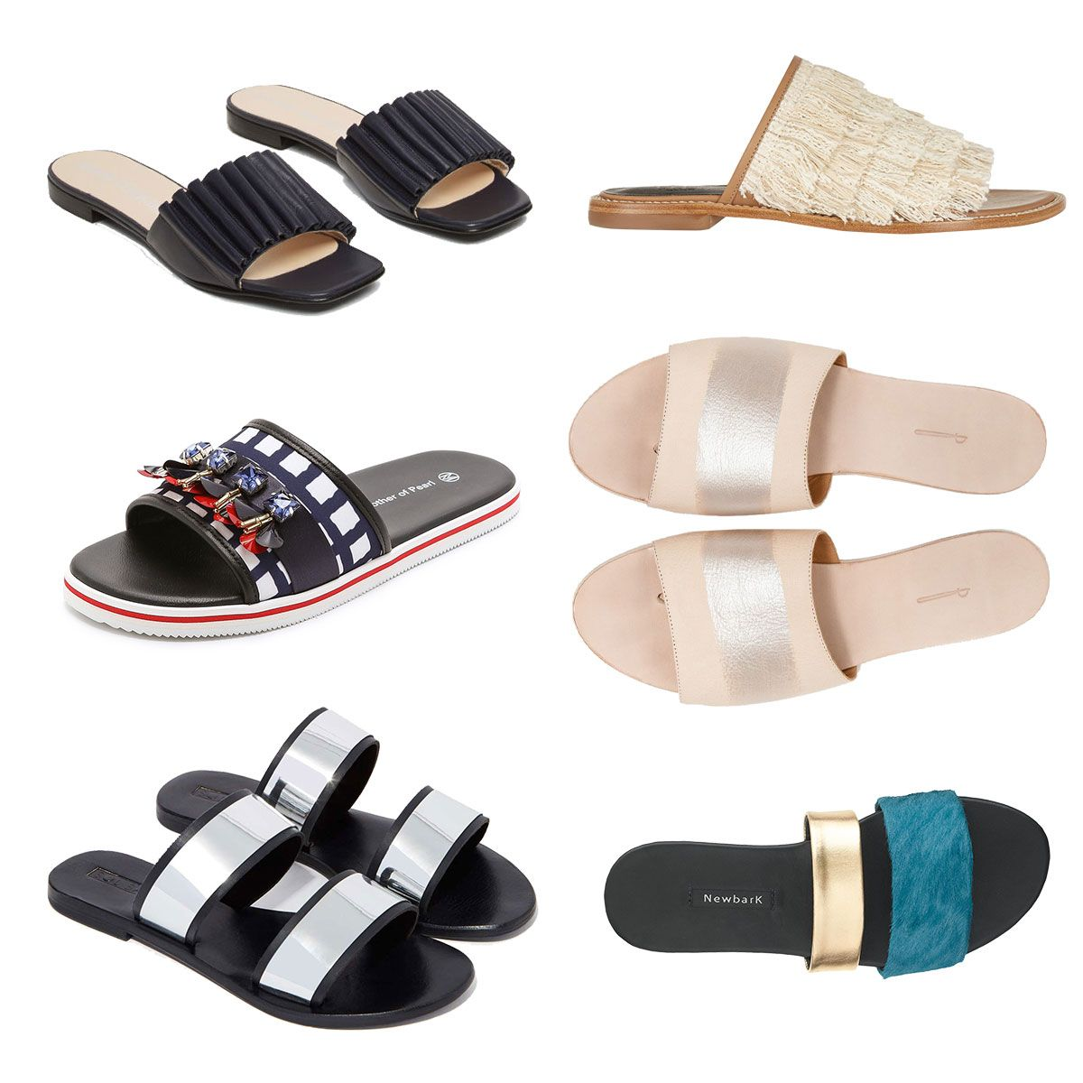 51f68a12bd7dd0 Fancy Slides Not Meant for the Shower - 44 of Spring s Chicest Shoes for  Every Occasion - The Cut