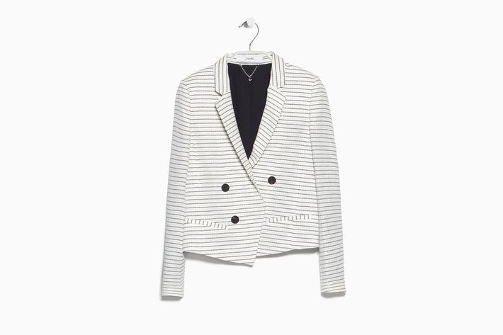 A Striped Blazer For The Office And Beyond
