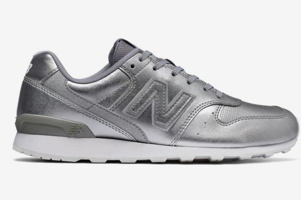 New Balance WL696 Suede Sneakers