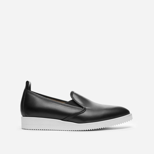 Everlane Leather Street Shoe, Black