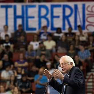 Bernie Sanders Holds Campaign Rally In Oklahoma City