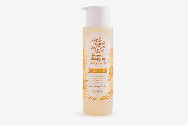 The Honest Company Perfectly Gentle Sweet Orange Vanilla Shampoo and Body Wash, 18 Ounces