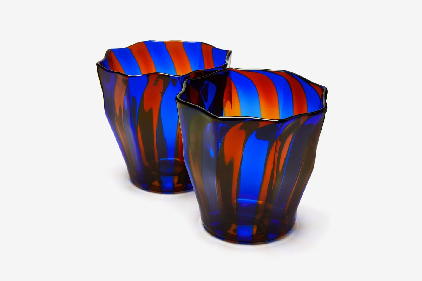 Campbell Rey Rosanna Murano stripe glasses