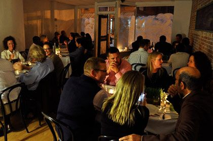 "<b>The Destination:</b> Souterrain Pop-up Dinners  <b>How to Get There:</b> The events change locations but they're generally in the Westport and Norwalk areas, under an hour ride on the Metro-North from New York City.  <b>When to Go:</b> Sign up for the <a href=""http://www.lefarmct.com/index.php/events"">Souterrain newsletter</a> and jump on reservations as soon as they send out their impromptu events (spots book up fast).     Souterrain is the extremely of-the-moment, underground dining experience created and executed by the folks at Westport's hottest two restaurants: <a href=""http://www.lefarmct.com/"">leFarm</a> and <a href=""http://thewhelkwestport.com/"">the Whelk</a>. A different location is chosen for each dinner (past spots have included abandoned warehouses and retail stores) and announced 48 hours prior to the event. The price fluctuates and reservations are only taken by e-mail, but the pedigree and the raves diners issue make these must-try meals.<i></i>    <i>Souterrain, location is always TBD, sign up for e-mails and alerts.</i>"