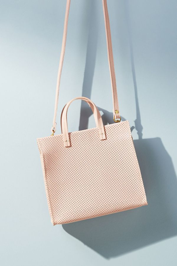 Clare V. Simple Perforated Tote Bag