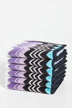 Missoni Home Giacomo Wash Cloth (Set of 6)