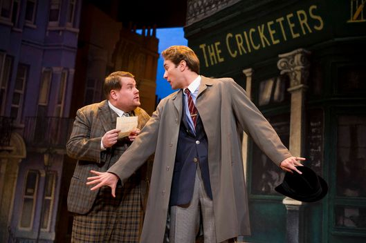 A scene from One Man Two Guvnors