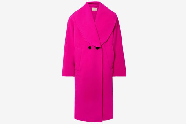 Marc Jacobs Oversized Double-Breasted Wool-Blend Coat