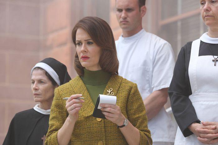 Sarah Paulson as Lana Winters in AHS: Asylum.