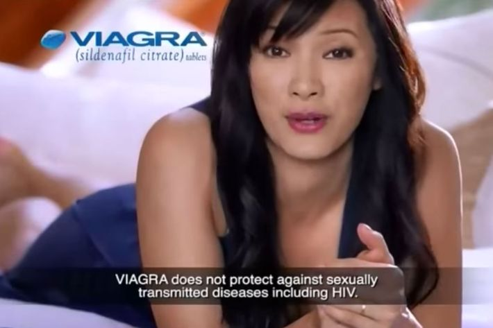 What does viagra do to women
