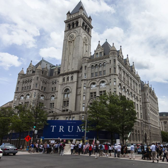 Trump May Have Breached His D C Hotel Lease By Getting Elected