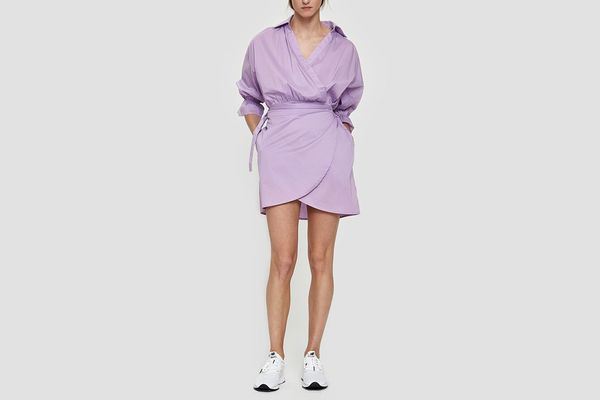 Farrow Lena Wrap Dress