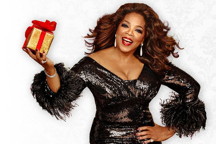 What's in the box, Oprah? Tiny wine?
