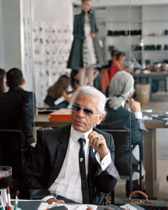 Karl Lagerfeld Young Photos