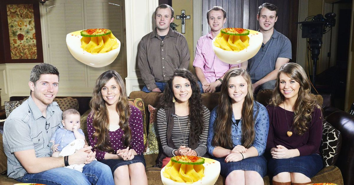 The Duggars Call Deviled Eggs 'Yellow Pocket Angel Eggs,' Which Seems Right