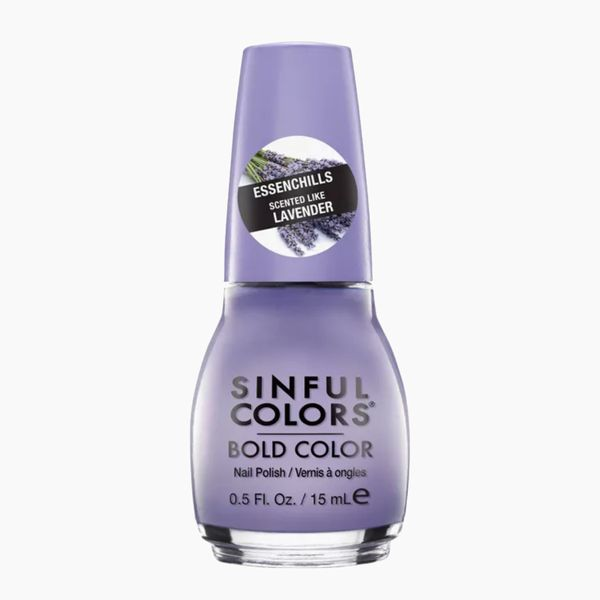 SinfulColors Essenchills Professional Nail Polish in Low-Key Lavender