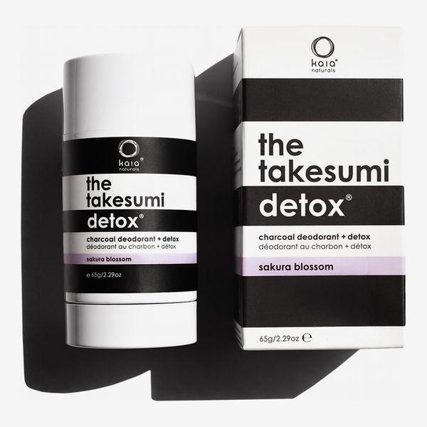 Kaia Naturals The Takesumi Detox Charcoal Deodorant Sakura Blossom