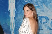"""HOLLYWOOD, CA - NOVEMBER 19:  Actress Marcia Gaye Harden attends the Premiere of Walt Disney Animation Studios' """"Frozen"""" at the El Capitan Theatre on November 19, 2013 in Hollywood, California.  (Photo by Frederick M. Brown/Getty Images)"""