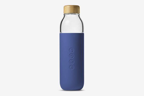 Soma BPA-Free Wide-Mouth Glass Water-Bottle