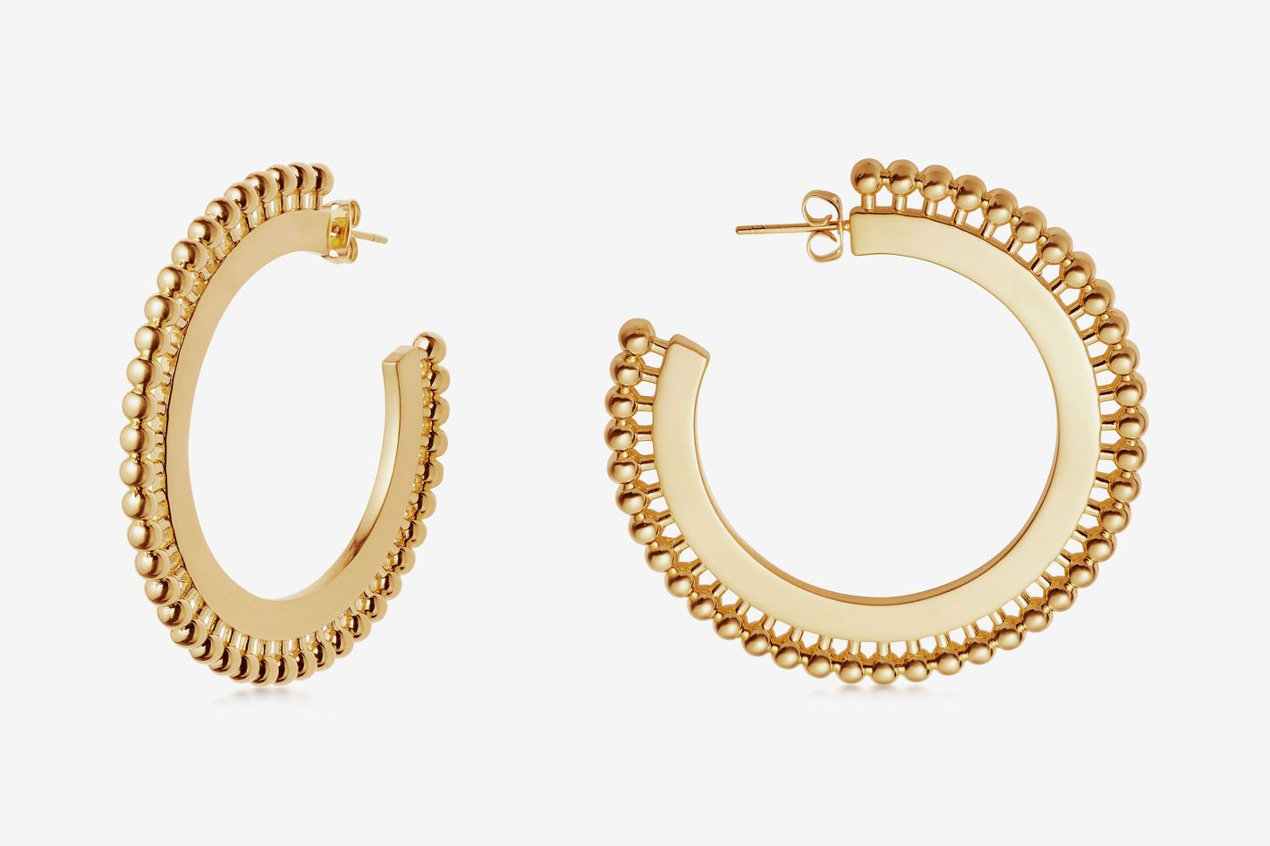 Gold Large Zenyu Hoops