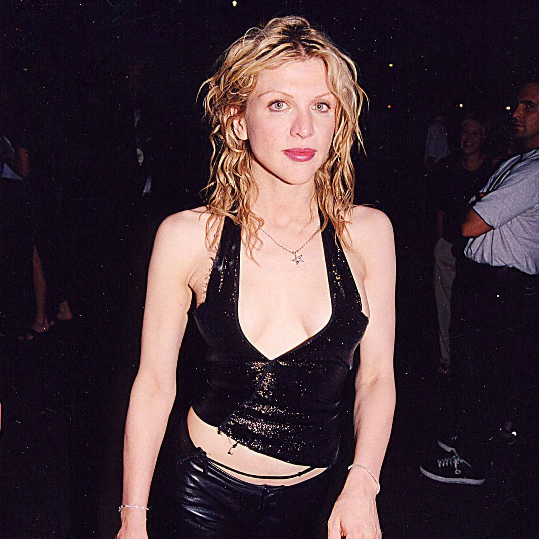 The Best Looks From Courtney Love Queen Of 90s Fashion