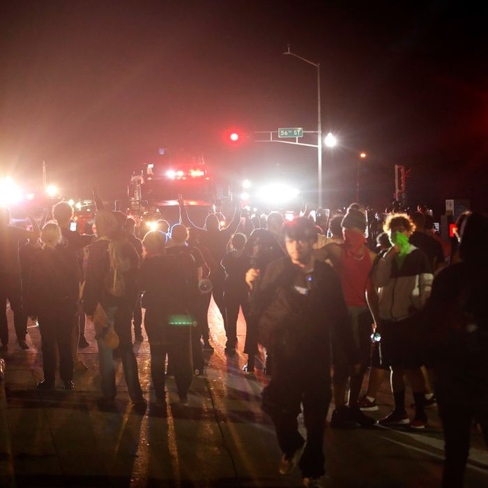 Protests for Jacob Blake spill into their third night in Kenosha, Wisconsin.
