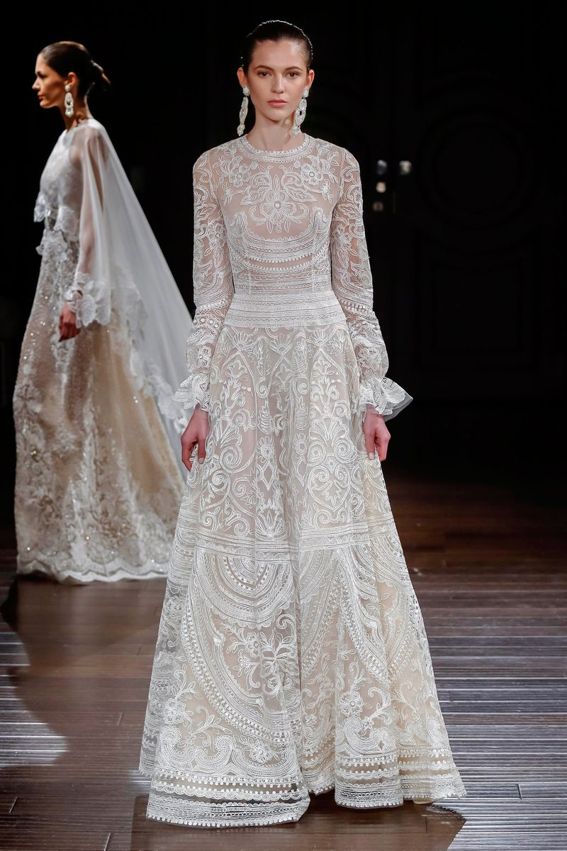 Naeem khan spring 2017 bridal the cut for Naeem khan wedding dress
