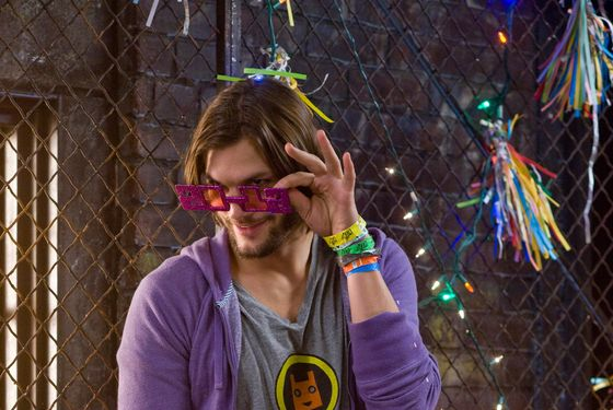 "ASHTON KUTCHER as Randy in New Line Cinema's romantic comedy ""NEW YEAR'S EVE,"" a Warner Bros. Pictures release."