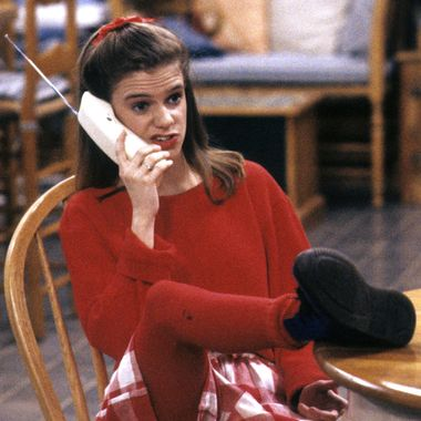 """FULL HOUSE - """"Subterranean Graduation Blues"""" - Airdate: March 2, 1993. (Photo by ABC Photo Archives/ABC via Getty Images)ANDREA BARBER"""