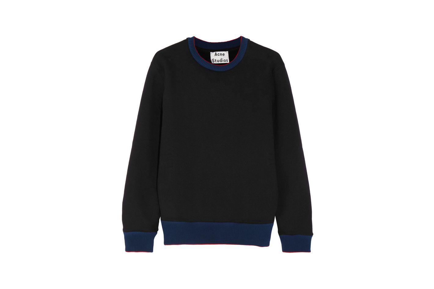 Acne Studios Carly cotton-jersey sweatshirt