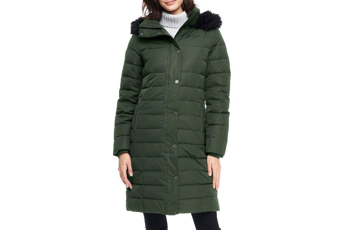 Land's End Women's Luxe Long Down Coat