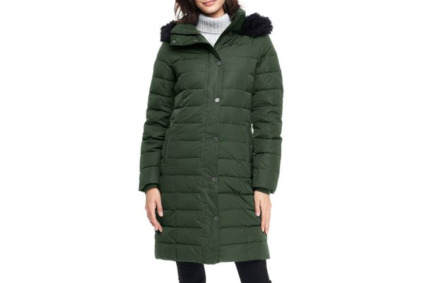 Land's End Women's Luxe Long Down Coat