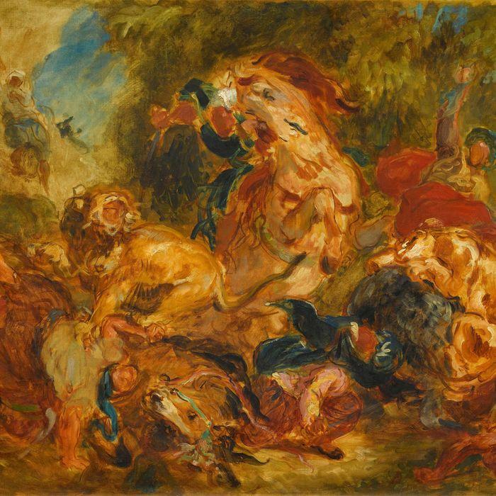 Eugene Delacroix Heroic Figures And The Status Viatoris Summary