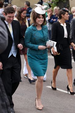 Princess Eugenie and Beatrice.