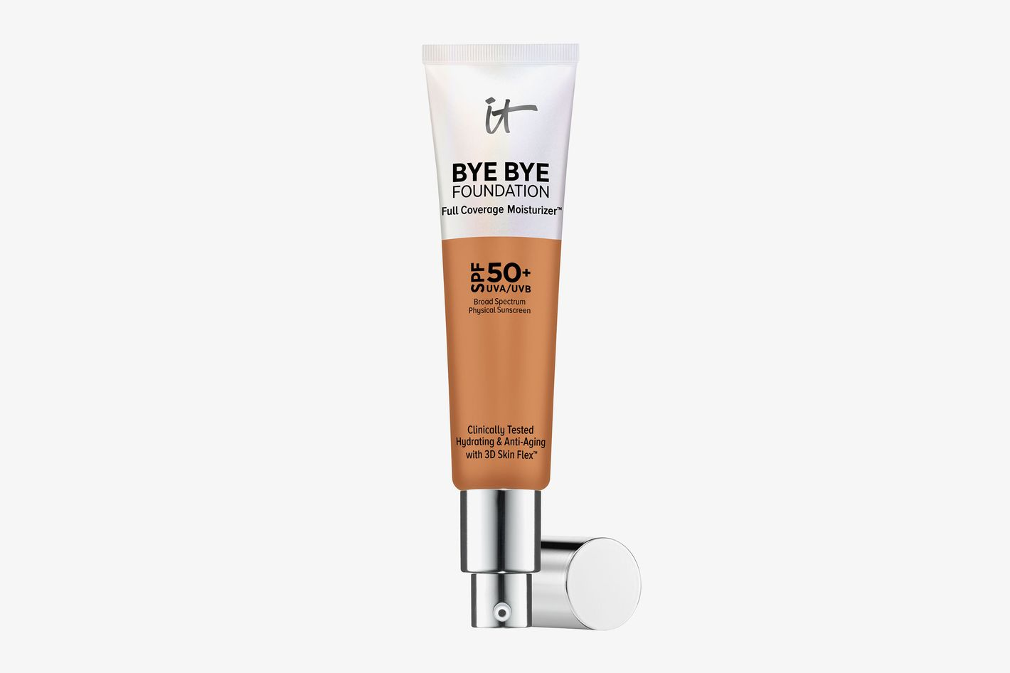 Bye Bye Foundation Full Coverage Moisturizer with SPF 50+ Tan