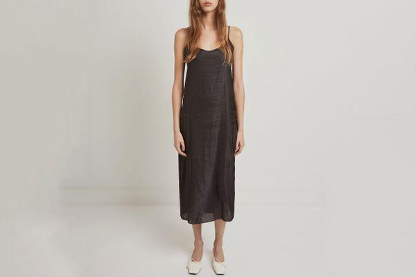 La Garçonne Moderne Portrait Slip Dress